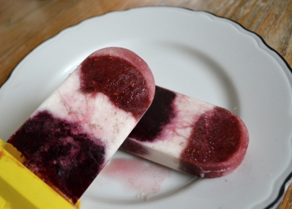 Vegan Berry Pops